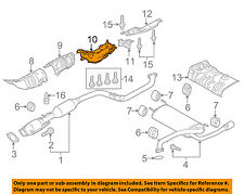 MAZDA OEM 10-13 3 Exhaust-Heat Shield BBM456452