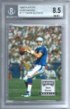 1993 #117 Drew Bledsoe Rookie Playoff Contenders Beckett Graded 8.5 NM-MT+