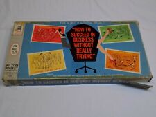 How to Succeed in Business Without Really Trying Board Game Vintage 1963 Old Fun
