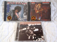 BOB DYLAN 3 CD LOT SAVED & EMPIRE BURLESQUE & TIME OUT OF MIND CLASSIC FOLK ROCK