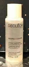 Decleor Aroma Cleanse Essential Tonifying Lotion TRAVEL Face Toner Mini 15ml