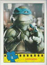 Teenage Mutant Ninja Turtles 1990 TOPPS Card # 2 LEONARDO