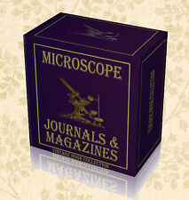 Vintage Rare Microscope Magazines Journals on DVD Histology Slides Microscopy G8