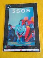 5 SECONDS OF SUMMER - 5SOS - 2018 Laminated Promo TOUR POSTER