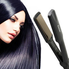 Flat Iron Professional Ceramic Tourmaline Plate Hair Straightener Styling Tool