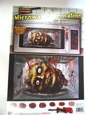 Cut Off Zombie Head Microwave Decoration Halloween Haunted House Party