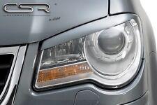 CSR Scheinwerferblenden für VW Touran 1T2 06-10 Böser Blick Blenden Set ABS