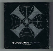 SIMPLE MINDS - BIG MUSIC - DELUXE EDITION - 2 CD + 1 DVD - SONY 2014 - NEUF NEW