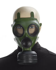 Deluxe Adult Bio-Hazard Green Police SWAT Gas Mask Gasmask