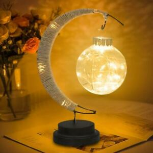 LED Moon Lamp Colorful Light Up Moon Night Lights Bedroom Party Decor