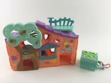 Lot of 2 Littlest Pet Shop Teeniest Pop-Up Mini Playset Clubhouse Treehouse toy