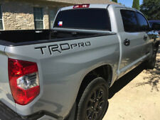 Bdtrims   Black Trd Pro Letters for Toyota Tundra 2014-2019 Abs Plastic Inserts