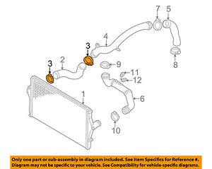 VOLVO OEM 03-09 S60 2.5L-L5 Intercooler-Upper Hose Clamp 987409