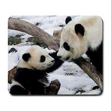 Panda bears Large Mousepad Mouse Pad Great Gift Idea