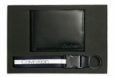 Calvin Klein Giftbox 1 5CC Coin + Keyfob Geschenkset Geldbörse Black Schwarz