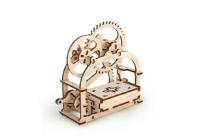 """Ugears Code: 70001 Wooden 3D Mechanical puzzle """"Box"""""""