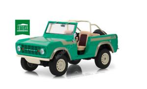1/18 Greenlight Ford Bronco Twin Peak 1976 Gas Monkey Garage 2012-2017 Neuf