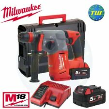 Milwaukee M18CHX-502X 18 V Fuel Sans Balais SDS + Perceuse à percussion + 2x 5.0Ah Batteries
