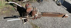 Giant ! Huge ! Vintage Mall Chainsaw Two Man Model 6 Parts Restore