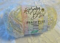 NEW Baby Bee Peach Fuzz Sweet Pea White Pink Polyamide Super Fine Yarn 100g 106