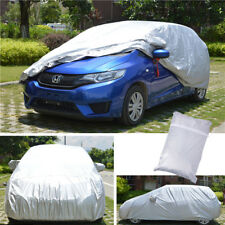 Medium Full Car Cover Outdoor Weather Protection Fit 4M-4.4M Hatchback Estate