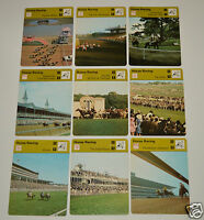 HORSE RACING History Racetracks Photos 1977-1979 SPORTSCASTER 9 CARD LOT