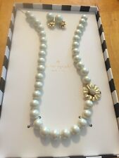 Kate Spade Mom KnowsBest Pearl Necklace/EarringBoxed Set  New $128 KSJ6