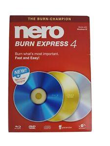 Nero Burn Express 4 - Windows
