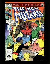 New Mutants #7 Vf McLeod Buscema Professor X Storm Colossus Nightcrawler 1st Axe