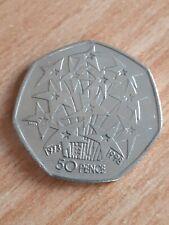 1998 European Union EU Stars UK 50p