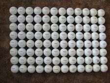 "8 Dozen (96) Titleist Velocity Golf Balls ""Slightly Used"" Flat Shipping"
