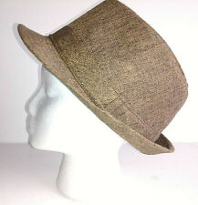 ebfc86a1 HAT FOREVER 21 FEDORA Mens Womens Unisex Browns One Size