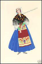 SERIGRAFIA ORIGINALE 1900 FAINI COSTUME LAZIO