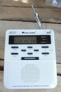 Midland S.A.M.E. Digital Weather/Hazard Alert Monitor MODEL WR-100 EXCELLENT