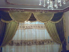curtains desinge drapery swags curtain tassel valances handmade . fabrics