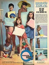 PUBLICITE  1966   TERGAL  draps