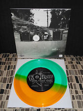 "THE SHRINE  ZIG ZAGS   7""  VOLCOM  TRANSLUCENT YELLOW GREEN vinyl"