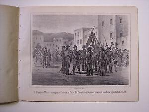 MAGGIORE MOSTO IN CASERTA CARABINIERI GENOVESI Guerra d'Italia 1861 Risorgimento