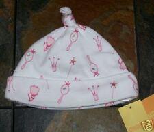 NWT 6-12 Months Gymboree PRETTY PRINCESS White Knit Cuffed BEANIE Hat