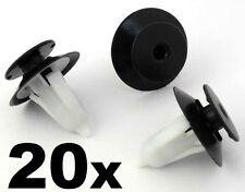 20x Ford Door Card Clips, Plastic Trim Clips for Puma, Ka, Fiesta MK4, 1020732