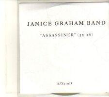 (DT594) Janice Graham Band, Assassiner - DJ CD
