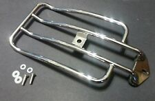 Chrome Solo Rider Luggage Rack 2004-later XL Models Harley Davidson Sportster