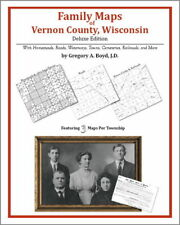Family Maps Vernon County Wisconsin Genealogy WI Plat