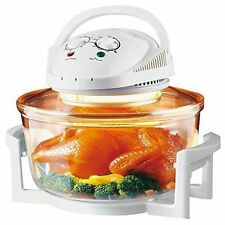 NEW 12 LITRE WHITE 1300W HALOGEN CONVECTION OVEN COOKER MULTI-FUNCTION COOKER