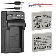 Kastar DB-L20 Battery Charger Sanyo VPC-CA65 VPC-CA8 VPC-CA9 VPC-CG6 VPC-CG65