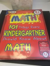 Active Minds 101 Things Every Kindergartner Should Know About Math Reading New