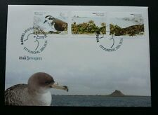 Portugal The Wildlife Of Islands 2004 Bird Flower Flora Fauna Lizard (stamp FDC)