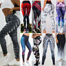 Women High Waist Yoga Leggings Fitness Floral Athletic Sports Pants Trousers Hot
