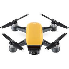DJI CP.PT.000732KIT Spark Quadcopter (Sunrise Yellow) 1080p/12 MP Drone - NEW!