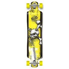 Yskull graphics Lowrider Drop down through Longboard Complete skateboard cruise